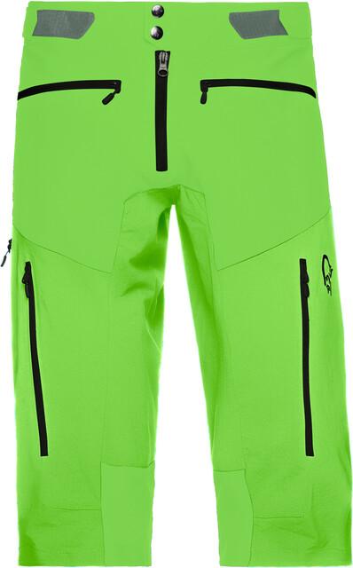 Norrøna Fjørå Flex1 Shorts Herre jungle green | Gode tilbud